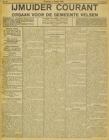 IJmuider Courant 1922-01-04