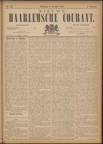 Nieuwe Haarlemsche Courant 1878-11-14