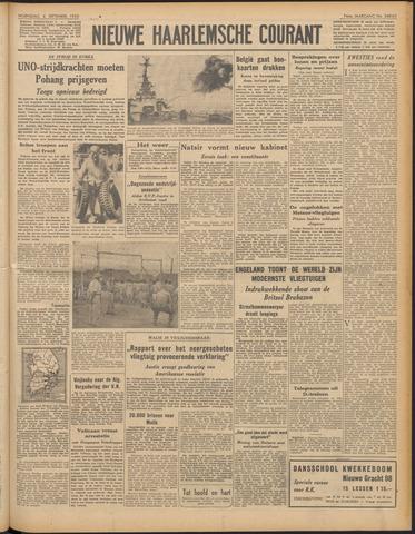 Nieuwe Haarlemsche Courant 1950-09-06