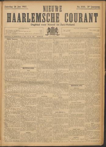 Nieuwe Haarlemsche Courant 1907-01-26