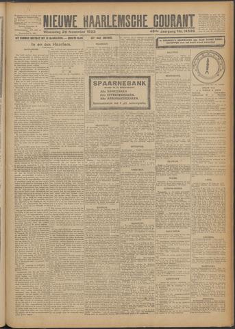Nieuwe Haarlemsche Courant 1923-11-28