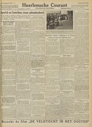 Haarlemsche Courant 1942-06-03