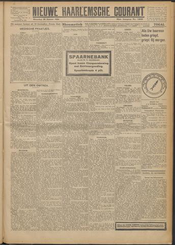 Nieuwe Haarlemsche Courant 1924-01-28