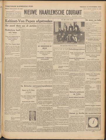 Nieuwe Haarlemsche Courant 1932-11-18