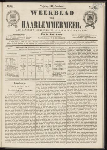 Weekblad van Haarlemmermeer 1862-10-31