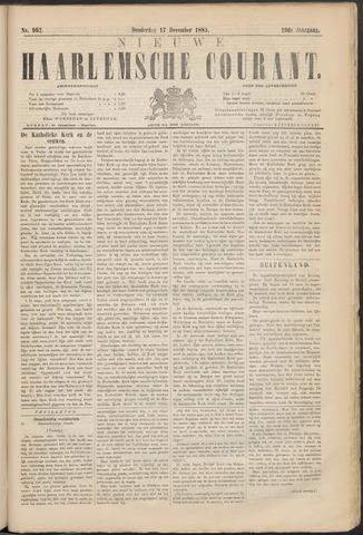 Nieuwe Haarlemsche Courant 1885-12-17