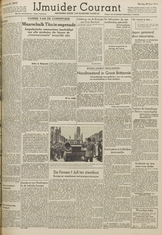 IJmuider Courant 1948-06-29