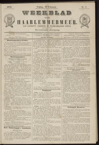 Weekblad van Haarlemmermeer 1876-02-18