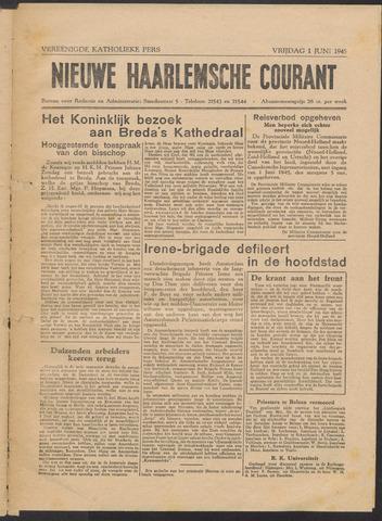 Nieuwe Haarlemsche Courant 1945-06-01