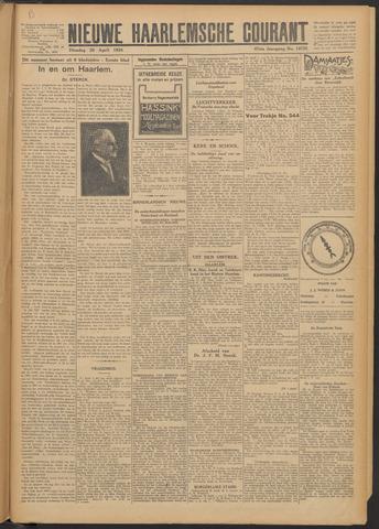 Nieuwe Haarlemsche Courant 1924-04-29