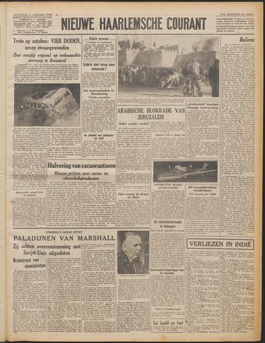 Nieuwe Haarlemsche Courant 1948-01-03
