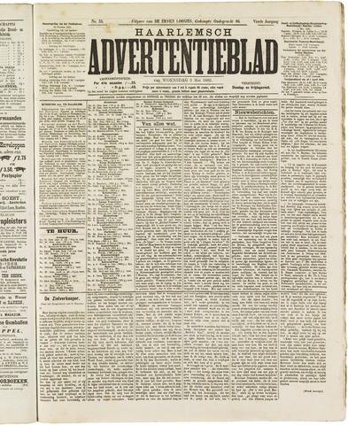 Haarlemsch Advertentieblad 1882-05-03