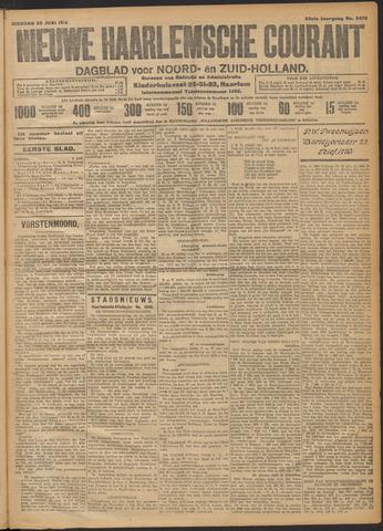 Nieuwe Haarlemsche Courant 1914-06-30