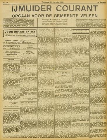 IJmuider Courant 1921-08-10
