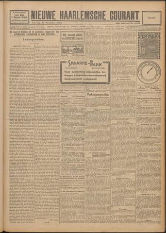 Nieuwe Haarlemsche Courant 1925-11-21