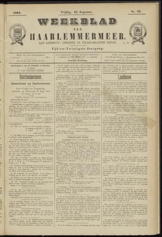 Weekblad van Haarlemmermeer 1884-08-15
