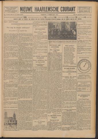 Nieuwe Haarlemsche Courant 1932-02-05