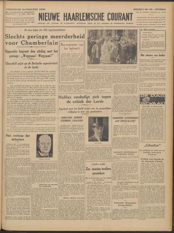Nieuwe Haarlemsche Courant 1940-05-09