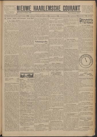 Nieuwe Haarlemsche Courant 1925-10-21