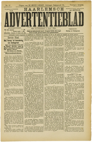 Haarlemsch Advertentieblad 1898-04-02