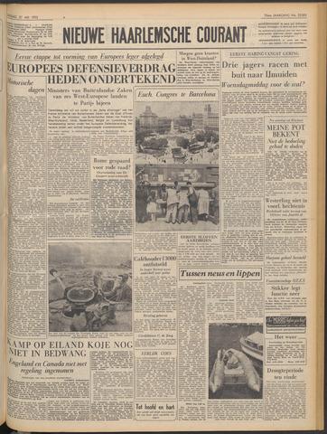 Nieuwe Haarlemsche Courant 1952-05-27