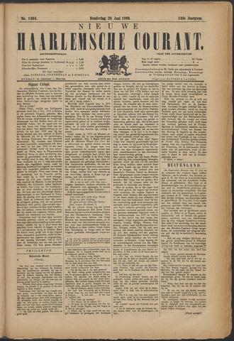 Nieuwe Haarlemsche Courant 1889-06-20
