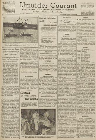 IJmuider Courant 1939-08-11