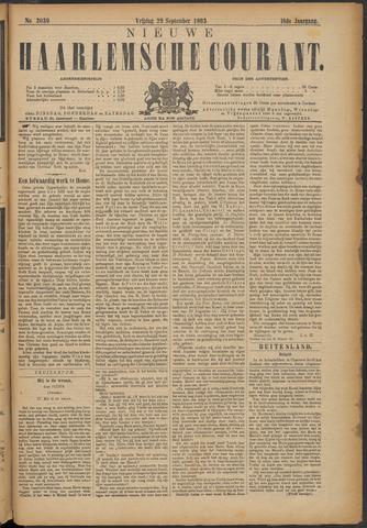Nieuwe Haarlemsche Courant 1893-09-29