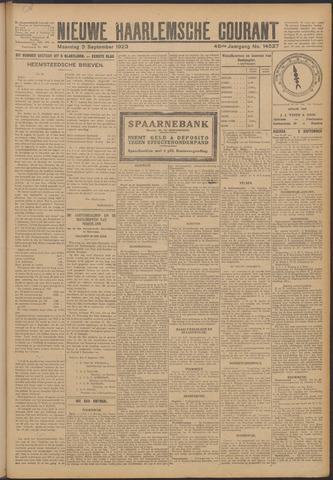 Nieuwe Haarlemsche Courant 1923-09-03