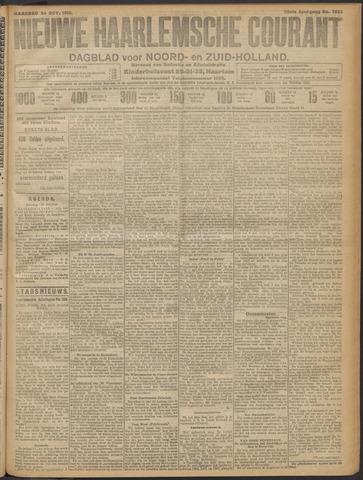 Nieuwe Haarlemsche Courant 1910-10-24
