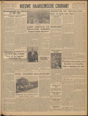 Nieuwe Haarlemsche Courant 1947-04-21
