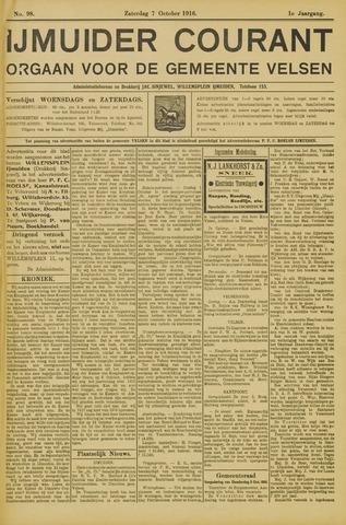 IJmuider Courant 1916-10-07