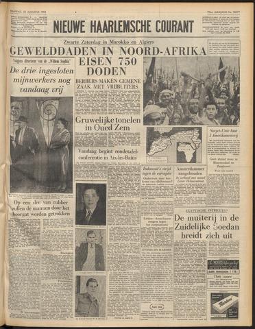 Nieuwe Haarlemsche Courant 1955-08-22