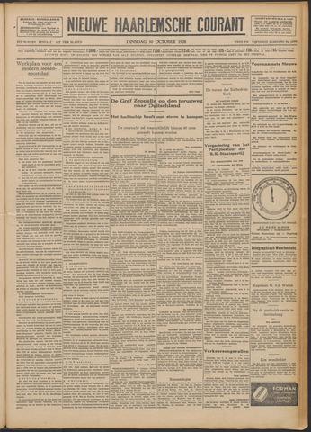 Nieuwe Haarlemsche Courant 1928-10-30