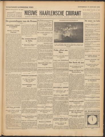 Nieuwe Haarlemsche Courant 1933-01-19