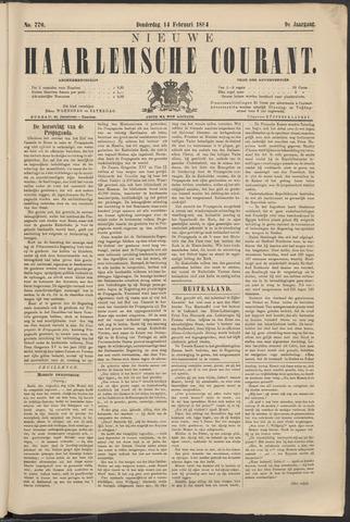 Nieuwe Haarlemsche Courant 1884-02-14