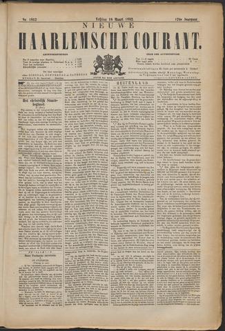 Nieuwe Haarlemsche Courant 1892-03-18