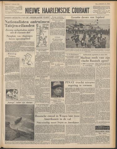 Nieuwe Haarlemsche Courant 1955-02-07