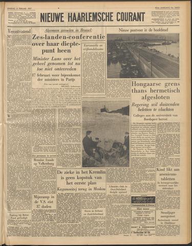 Nieuwe Haarlemsche Courant 1957-02-05