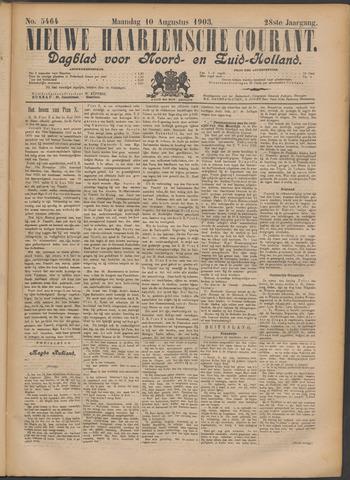 Nieuwe Haarlemsche Courant 1903-08-10