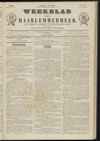 Weekblad van Haarlemmermeer 1883-04-13