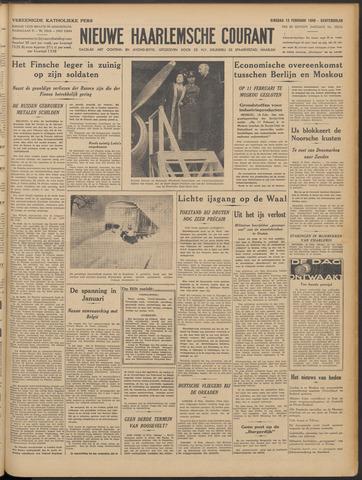 Nieuwe Haarlemsche Courant 1940-02-13