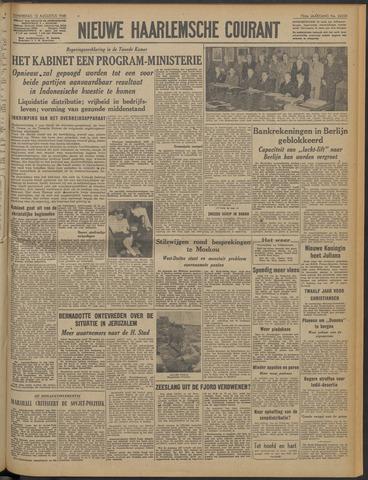 Nieuwe Haarlemsche Courant 1948-08-12