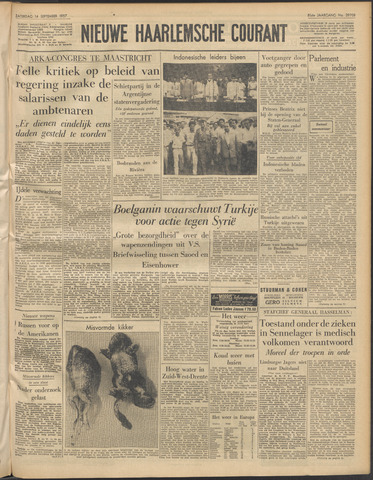 Nieuwe Haarlemsche Courant 1957-09-14