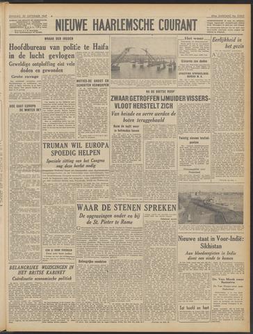 Nieuwe Haarlemsche Courant 1947-09-30