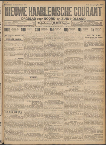 Nieuwe Haarlemsche Courant 1912-11-28