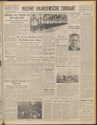 Nieuwe Haarlemsche Courant 1948-02-28