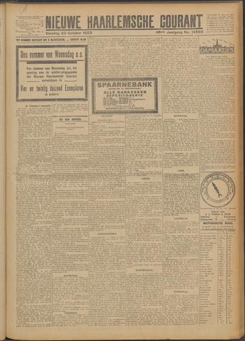 Nieuwe Haarlemsche Courant 1923-10-23
