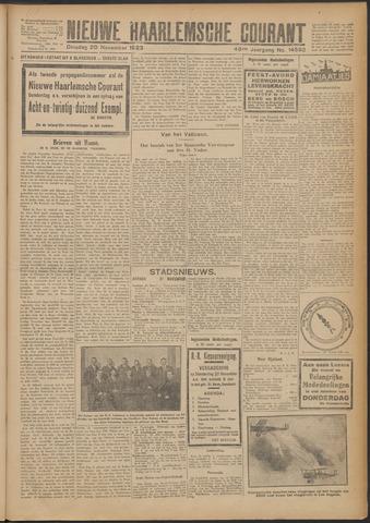 Nieuwe Haarlemsche Courant 1923-11-20