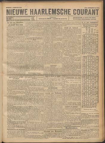 Nieuwe Haarlemsche Courant 1921-02-01
